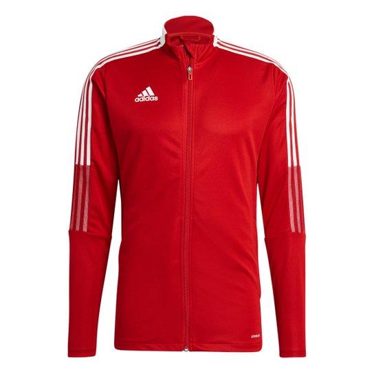 Jaqueta Adidas Tiro 21 Track Masculina - Vermelho