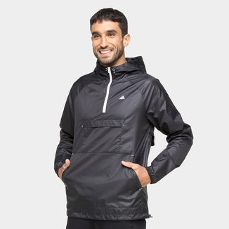 Jaqueta Corta Vento Adidas Designed To Move Ativated Tech Aeroready Masculina