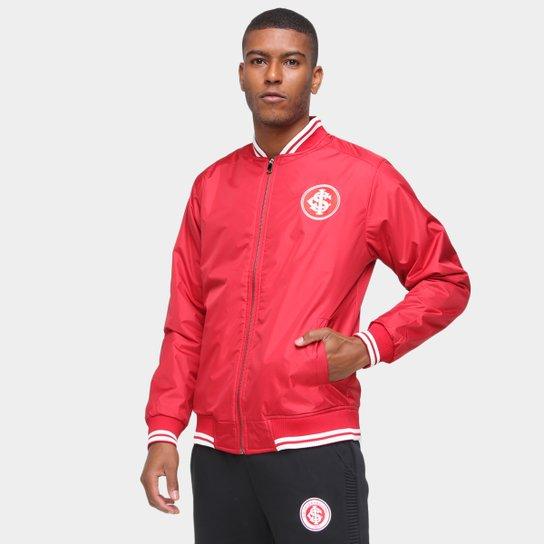 Jaqueta Internacional Bomber Masculina - Vermelho