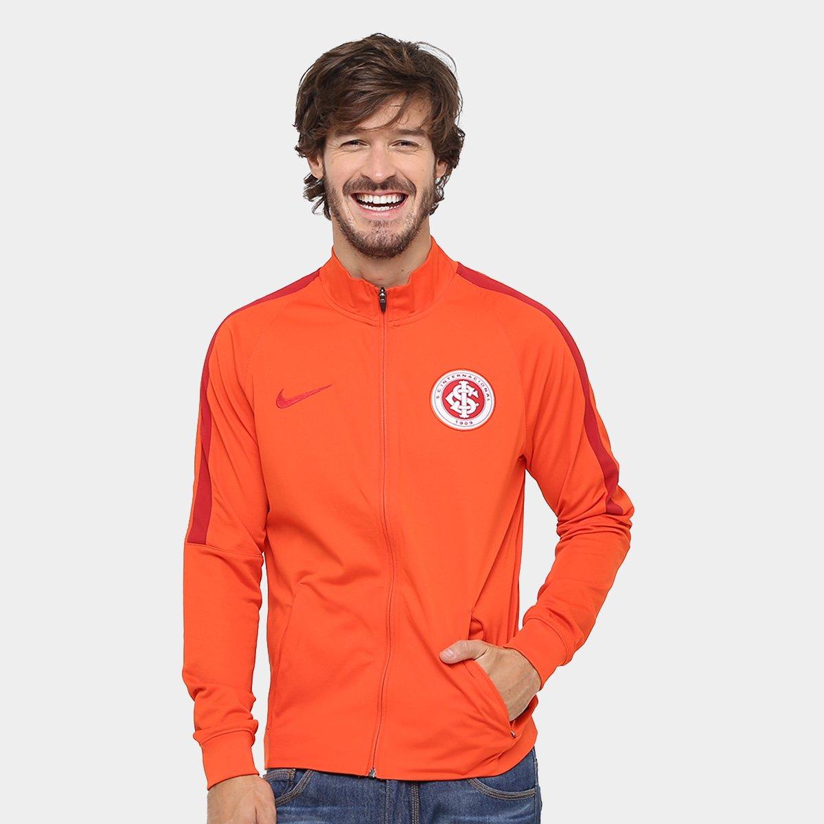 33a6a0ac78e2aa Jaqueta Internacional Nike Dry Squadra Masculina   Loja do Inter
