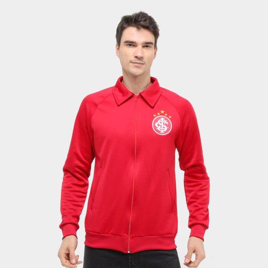 Jaqueta Internacional Retrô Mania Masculina - Vermelho