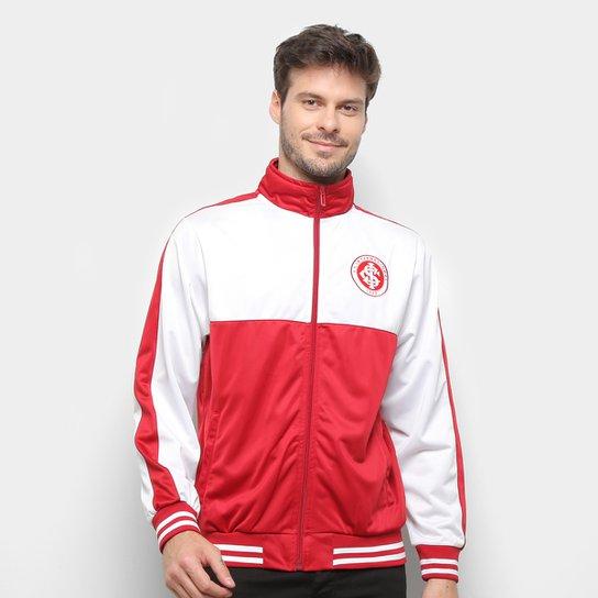 Jaqueta Internacional Trilobal I Masculina - Vermelho+Branco
