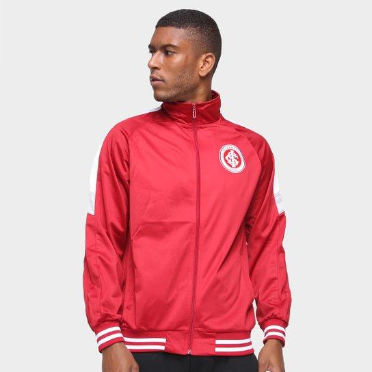 Jaqueta Internacional Trilobal Masculina - Vermelho+Branco
