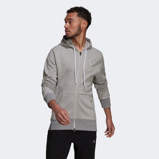 Jaqueta Moletom Adidas Comfy Chill Masculina - Cinza