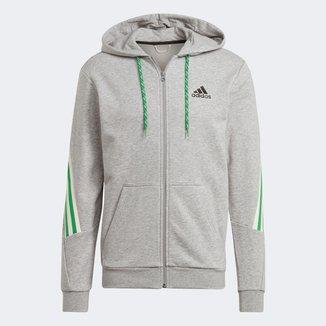Jaqueta Moletom Adidas Sportwear 3S Masculina