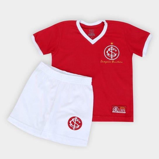 Kit Internacional Infantil 1975 - Vermelho