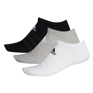 Kit Meia Adidas Soquete Light Low c/ 3 pares