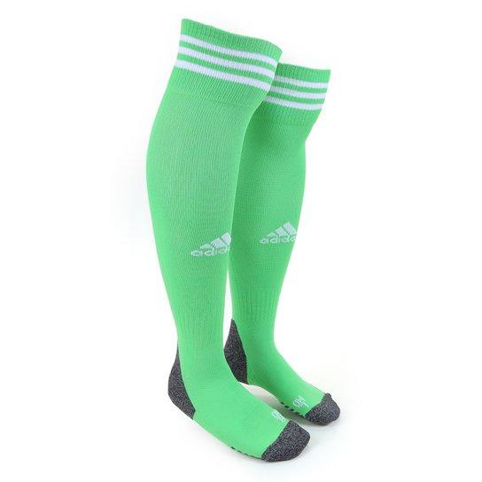 Meião Adidas Adisock 21 - Verde+Branco