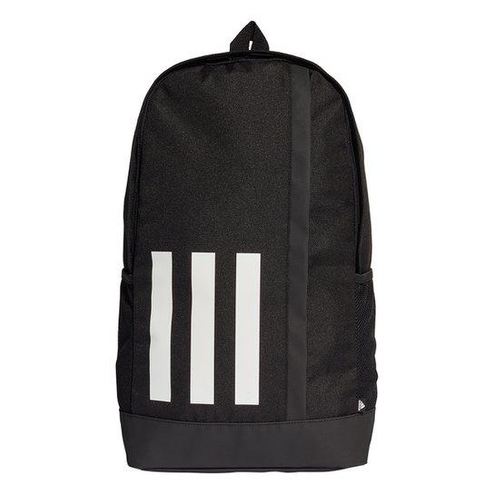 Mochila Adidas 3 Listras Essentials - Preto+Branco