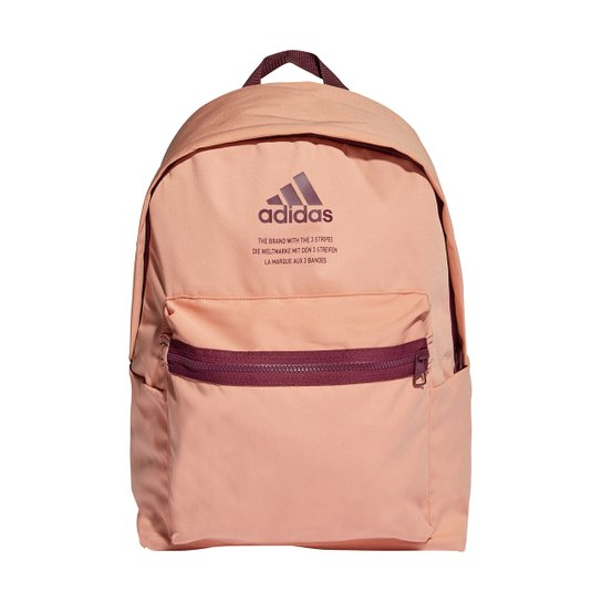 Mochila Adidas Clássica Fabric - Rosa
