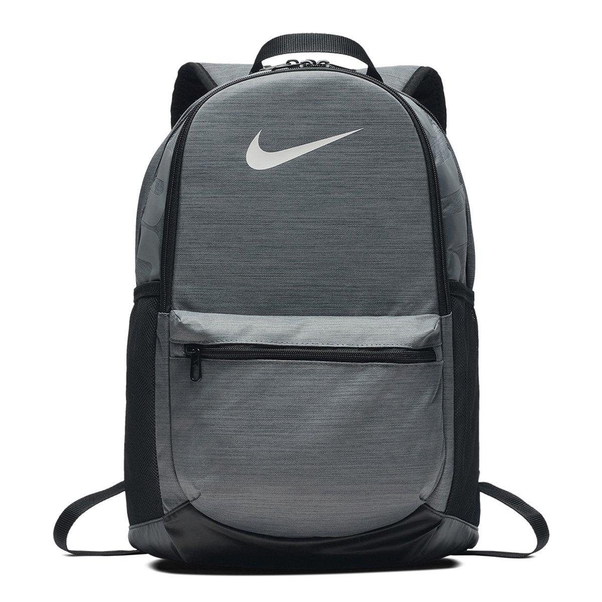 Mochila Nike Brasília - Cinza e Preto - Compre Agora  7ab526265af62