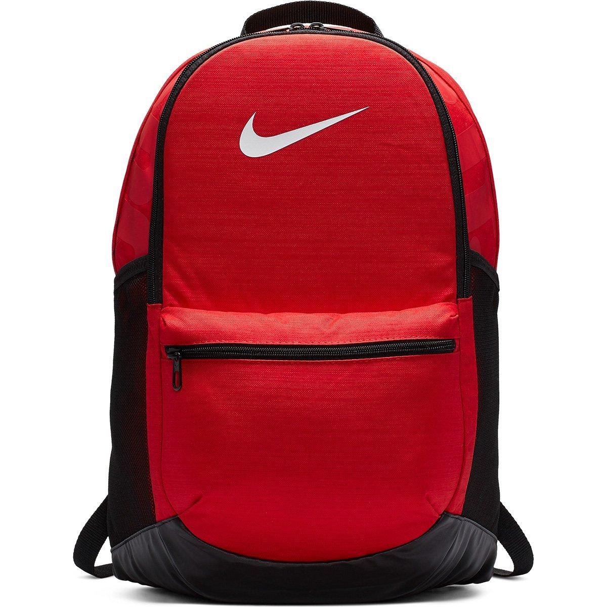 9a52804fe Mochila Nike Brasília - Vermelho e Preto | Loja do Inter