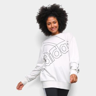Moletom Adidas Favourites Big Logo