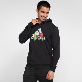 Moletom Adidas Mascote Canguru Masculino