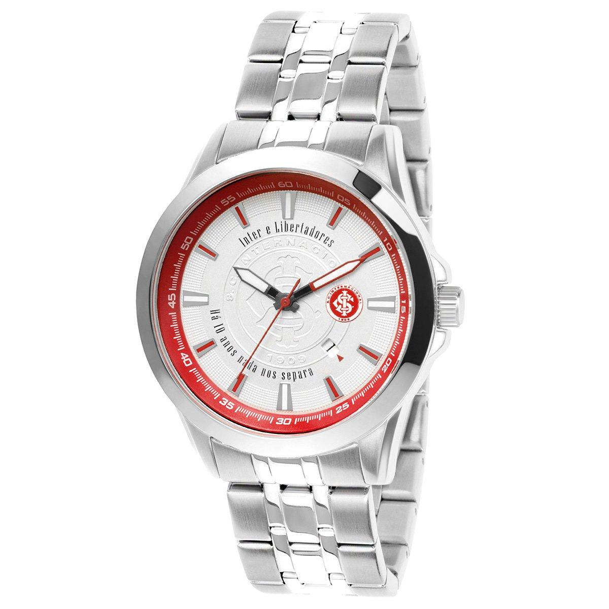 b90f762897f Relógio Internacional Technos Metal Analógico II Calendário - Compre Agora