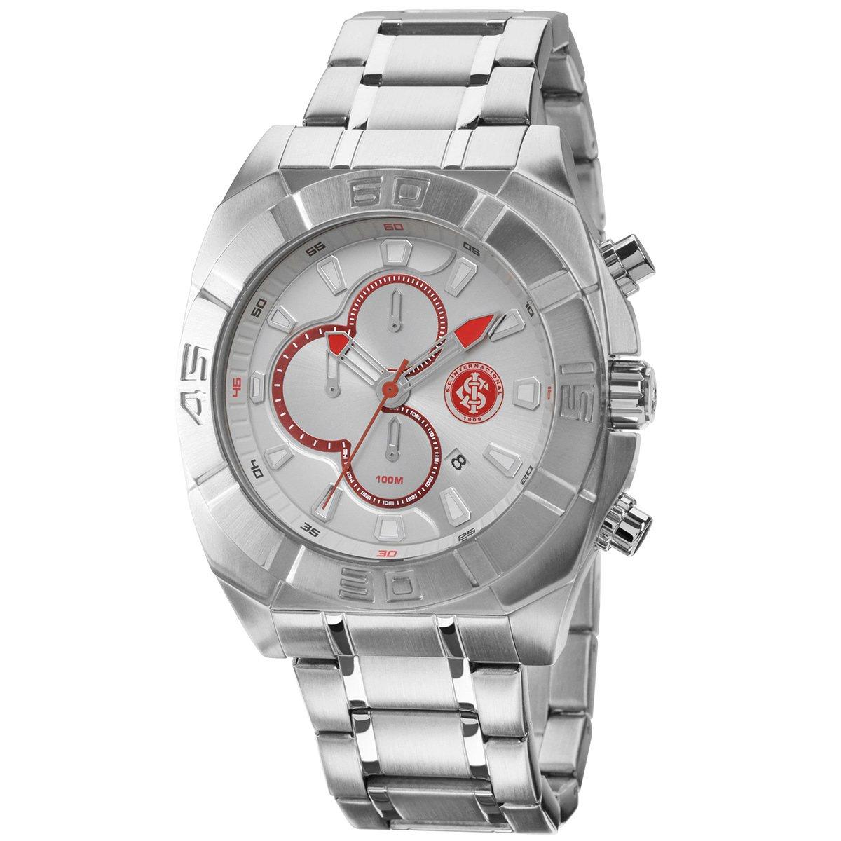 50c752a576d Relógio Technos Internacional Metal Analógico Cronógrafo - Compre Agora