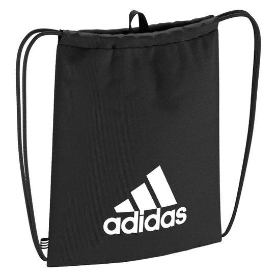 Sacola Adidas Gym Bag Tiro - Preto+Branco