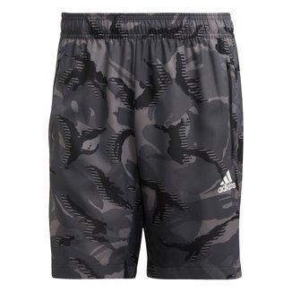 Short Adidas D2M Camuflado Masculino