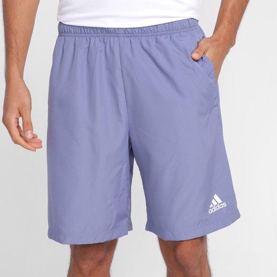 Short Adidas Plain Masculino - Lilás