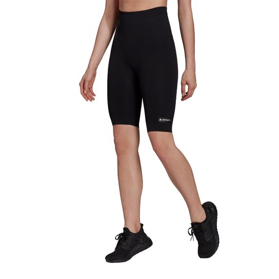 Short Legging Adidas Formotion Feminino - Preto