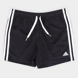Shorts Infantil Adidas Essencials Feminino