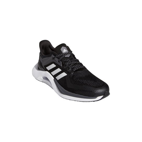 Tênis Adidas Alphatorsion 2.0 Masculino - Preto+Branco