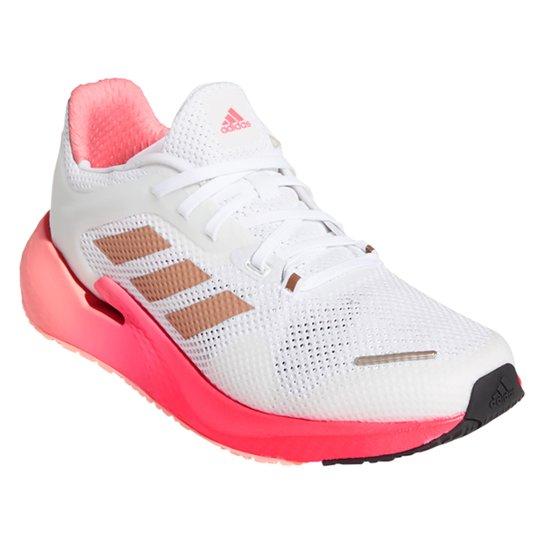 Tênis Adidas Alphatorsion Feminino - Branco+Rosa