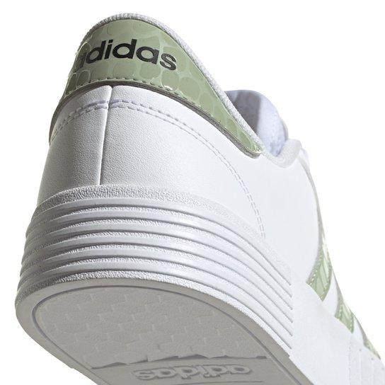 Tênis Adidas Court Bold Feminino - Branco+Verde