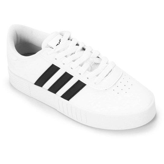 Tênis Adidas Court Bold Feminino - Branco+Preto