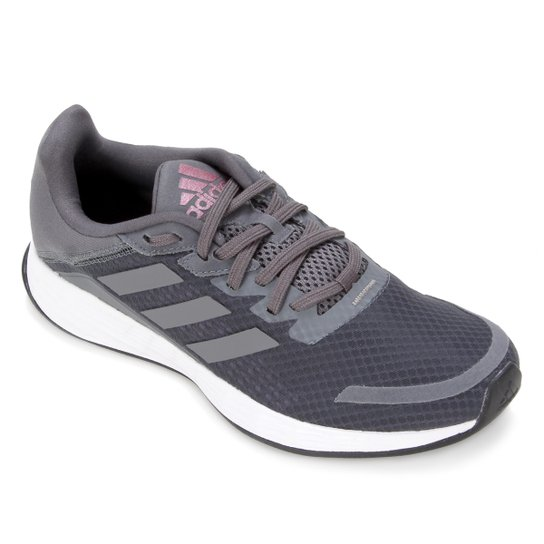 Tênis Adidas Duramo SL Feminino - Cinza+Branco