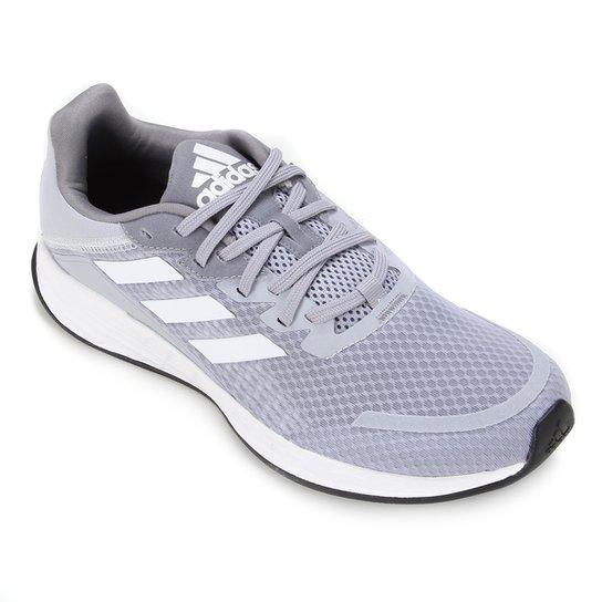Tênis Adidas Duramo SL Masculino - Prata+Branco
