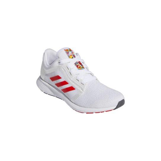 Tênis Adidas Edge Lux 4 Feminino - Branco+Vermelho