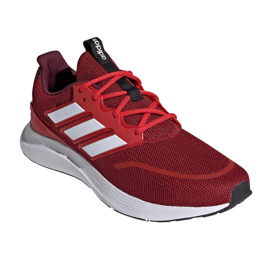 Tênis Adidas Energy Falcon Masculino - Vermelho+Branco