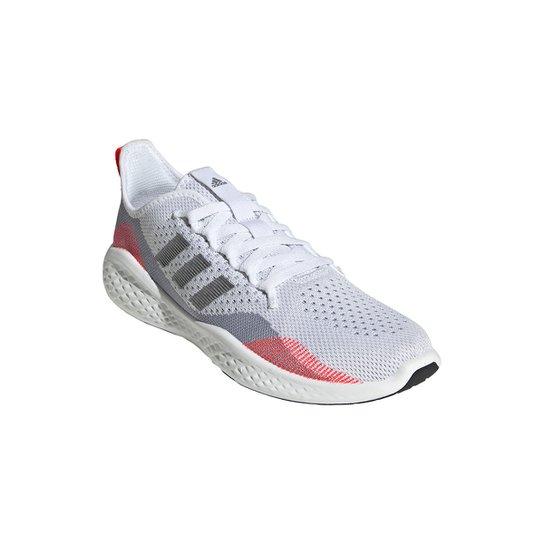 Tênis Adidas Fluidflow 2.0 Masculino - Branco+Laranja