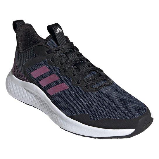 Tênis Adidas Fluidstreet Feminino - Preto+Branco