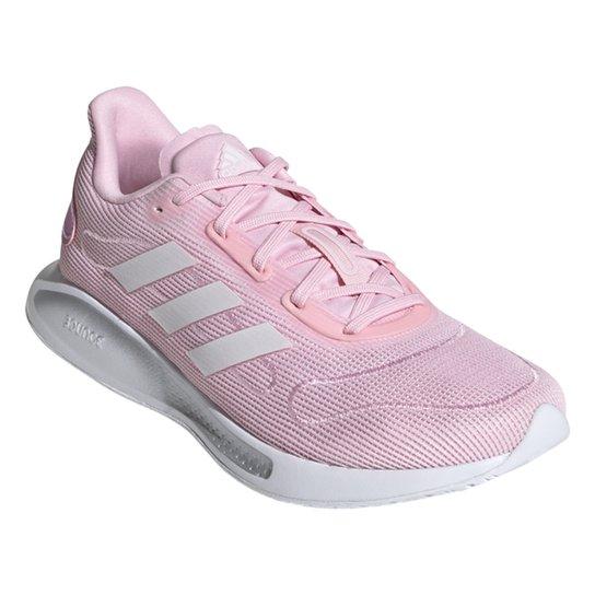 Tênis Adidas Galaxar Run Feminino - Rosa+Branco