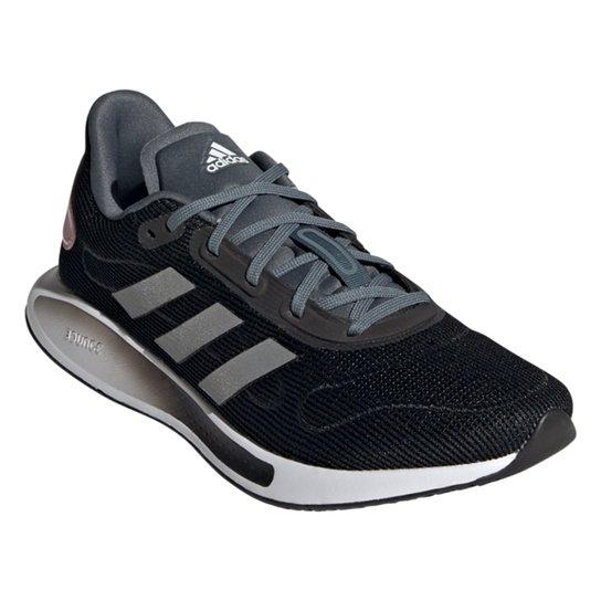Tênis Adidas Galaxar Run Feminino - Preto+Branco