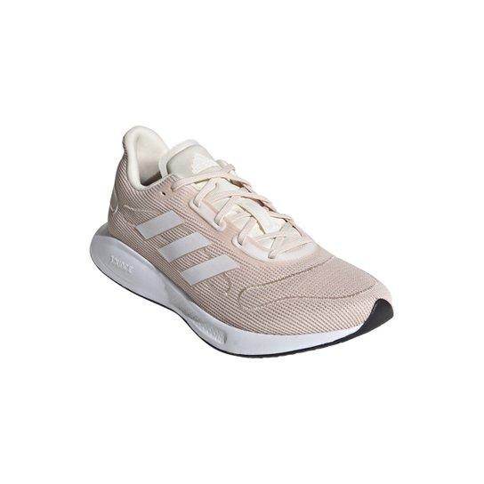 Tênis Adidas Galaxar Run Feminino - Pink+Branco