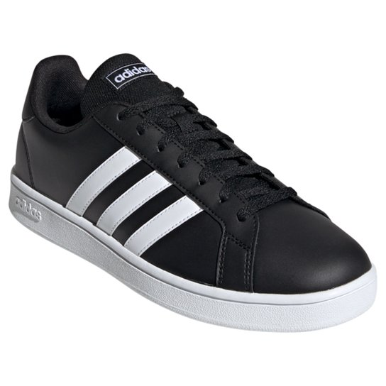 Tênis Adidas Grand Court Base Masculino - Preto