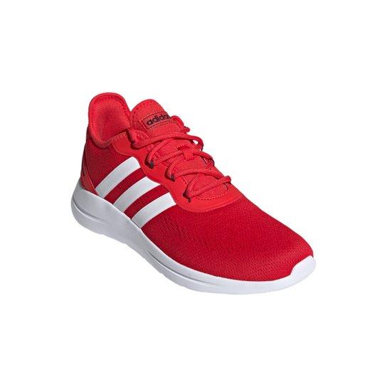 Tênis Adidas Lite Racer Rbn 2.0 Masculino - Vermelho+Branco