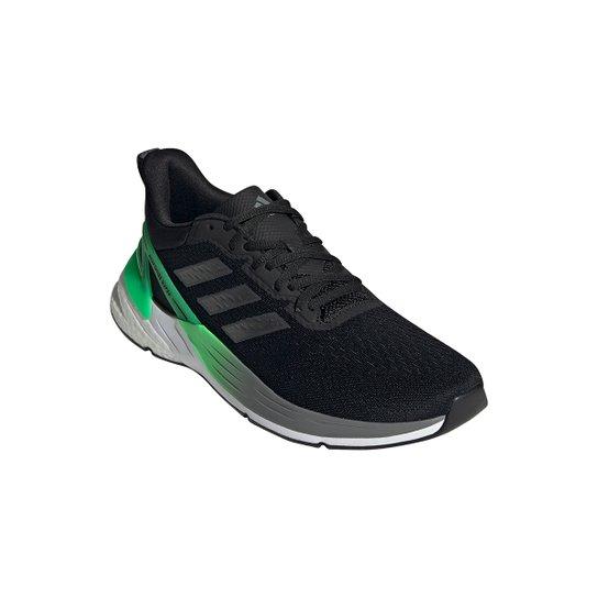 Tênis Adidas Response Super Boost 2.0 Masculino - Preto+verde