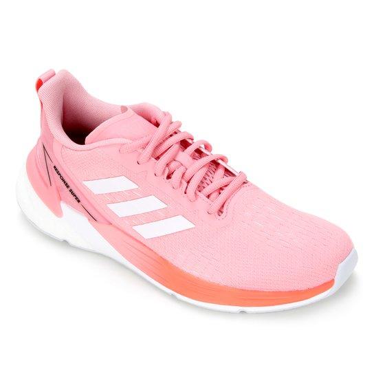 Tênis Adidas Response Super Boost Feminino - Rosa+Vermelho