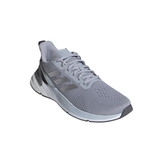 Tênis Adidas Response Super Boost Masculino - Prata+Branco