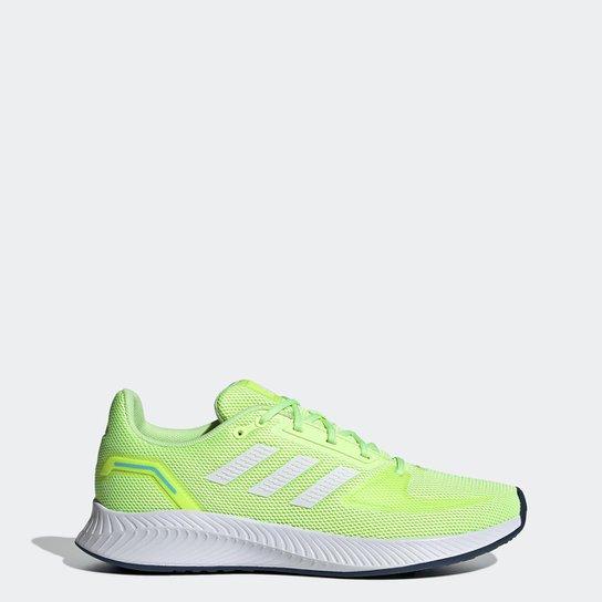 Tênis Adidas Runfalcon 2.0 Feminino - Verde Limão