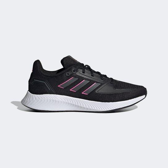 Tênis Adidas Runfalcon 2.0 Feminino - Preto+Rosa