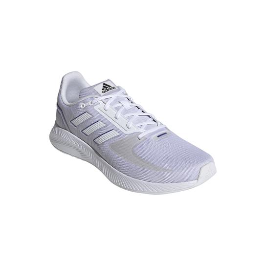 Tênis Adidas Runfalcon 2.0 Masculino - Branco+Lilás