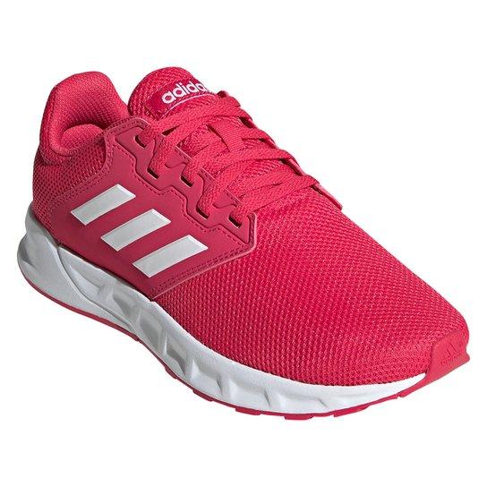 Tênis Adidas Showtheway Feminino - Rosa+Branco