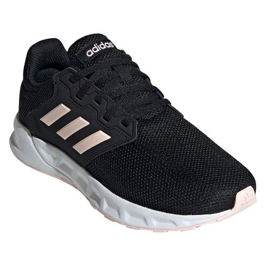 Tênis Adidas Showtheway Feminino - Preto+Branco