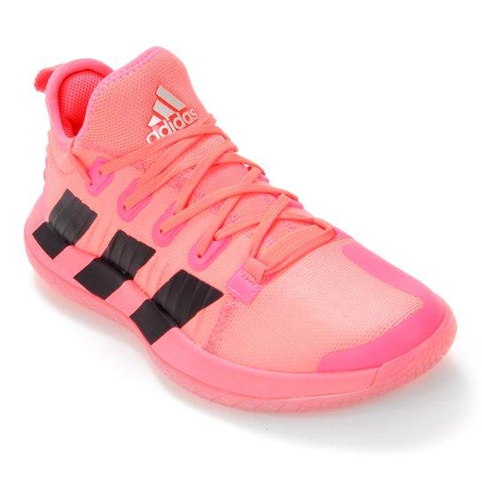 Tênis Adidas Stabil Next Gen Feminino - Rosa+Preto