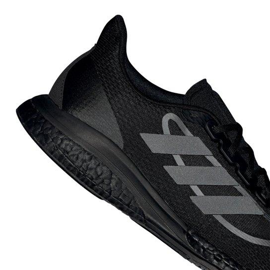 Tênis Adidas Supernova + Boost Masculino - Preto+Branco